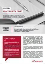 Uniserv Health Check Package