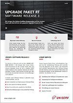 Uniserv Upgrade-Paket RT - Software Release 3 - C auf D