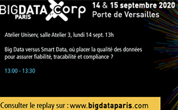 Atelier Uniserv : Big Data versus Smart Data