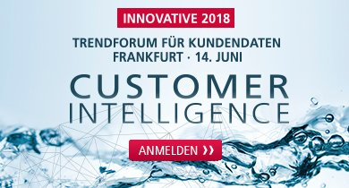 Innovative 2018 - Customer Intelligence