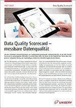 Data Quality Scorecard Fact Sheet
